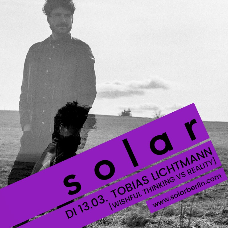 <p>Tobias Lichtmann and the latest SOLAR Bar Cover Design</p>