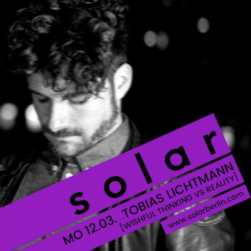 <p>Tobias Lichtmann and the latest SOLAR Bar Cover Design</p>
